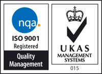 ISO 9001 Registered - Quality Management | UKAS Management Systems 015
